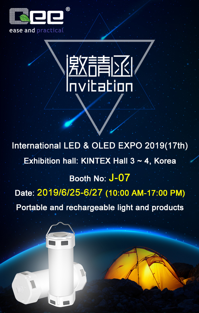 International LED & OLED EXPO 2019(17th)